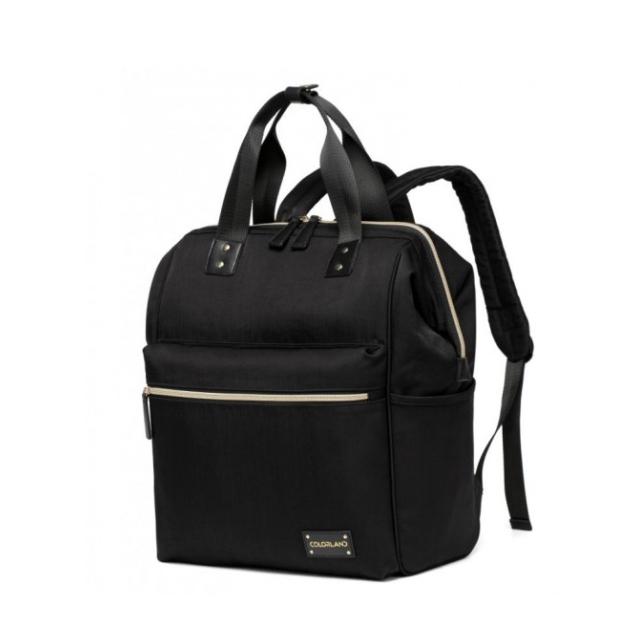 Colorland Zara Baby Changing Backpack - Black - Babymama