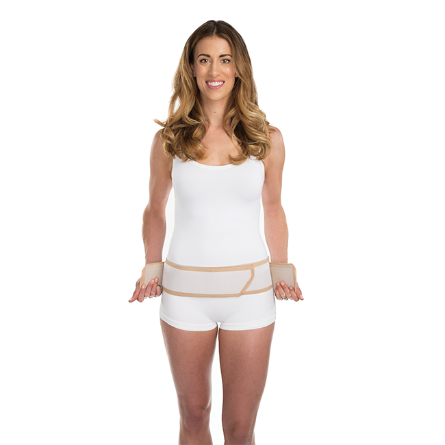 Shrinkx Hips Post Pregnancy Hip Reduction Belt - Nude M-L